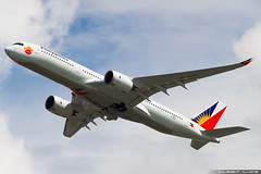 Philippine Airlines Airbus A350-941 cn 303 F-WZHI // RP-C3508 (Clément Alloing - CAphotography) Tags: philippine airlines airbus a350941 cn 303 fwzhi rpc3508 toulouse airport aeroport airplane aircraft flight test canon 100400 spotting tls lfbo aeropuerto blagnac airways aeroplane engine sky ground take off landing 1d mark iv avgeek avgeeks planespotter spotter