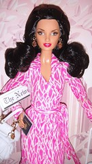 2006 Diane von Furstenberg Barbie (3) (Paul BarbieTemptation) Tags: 2006 gold label designer diane von furstenberg barbie sharon zuckerman