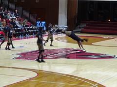 Zuzu in Motion (dougmartin571) Tags: roanokecollege lynchburghornets roanokemaroons maroonsathletics basketball americasgottalent agt zuzuacrobats maroonathletics roanokecollegeathletics