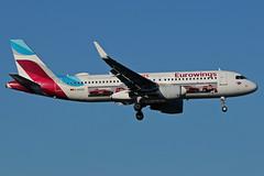 D-AEWS (Eurowings - AVIS) (Steelhead 2010) Tags: eurowings avis airbus a320 a320200 dus dreg daews