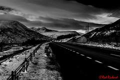 Run to the hills (red.richard) Tags: cairngorm scotland bw monochrome road mountains snow cof095 cof095ronn cof095lens cof095mark cof095lep cof095uki cof095chri