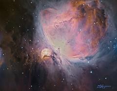 M42 SHO-RGB (nicolasstephan) Tags: nebuleuse ciel astro newton sbig astronomy telescope universe nebula mono tmb qsi astrodon cosmos constellation deep space dso interstellar nebulae nebulosity orion stars skies sky night mesu mesu200 science bw astronomia m42 sho