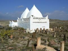 Tomb of Bin Ali, Mirbat, Oman (iwys) Tags: tomb islamic muslim graves cemetery bin ali mirbat oman architecture desert
