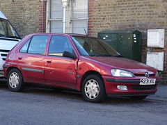 1997 Peugeot 106 XL Independence (Neil's classics) Tags: vehicle 1997 peugeot 106 xl independence 1124cc car