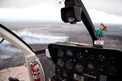 Kilauea, Hawaii (Roger Gerbig) Tags: hawaii bigisland rogergerbig canoneos5dmarkii ef24105mmf4lisusm kilauea volcano eruption lava aerialphotography helicopter volcaniccone easternriftzone puʻuʻōʻō 2679