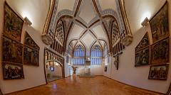 Astorga-Palacio Episcopa-Sala del trono (dnieper) Tags: palacioepiscopal museodeloscaminos salóndeltrono gaudí astorga león spain españa panorámica