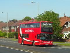 LJ03MKD (ee20213) Tags: bullockscoaches bullocks alexander alx400 daf lj03mkd kingsway a34