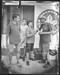 People of the camp (Attila Pasek (Albums!)) Tags: bugacikontaktfotográfiaitábor glass portrait ambrotype sinarf1 people camera rodenstock150mmf56 4x5 collodion meeting