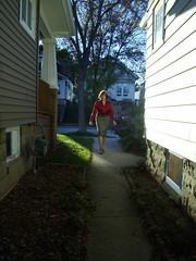 I Have Arrived! (Laurette Victoria) Tags: skirt blouse woman laurette