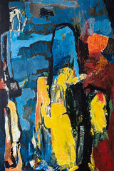 Akryl på lærred, abtrakt (gaderene) Tags: abstract painting paint acrylic canvas