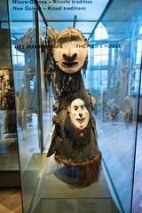New Guinea ritual costume (quinet) Tags: 2017 amsterdam antik netherlands tropenmuseum ancien antique museum musée