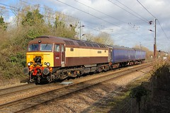 57312 Ely 11.03.19 (jonf45 - 4 million views -Thank you) Tags: ely north junction train railways railway br british rail northern belle class 57 57312