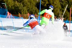 La Molina 2019 World Para Alpine Skiing World Cup - Day 4 (Paralympic) Tags: harausmiroslav guidehudikmaros b2 svk wpas2019alpineskiingworldcup lamolina spain alpineskiing parasport slalom