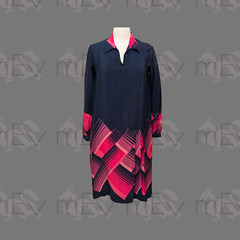 1920s Art Deco Silk Day Dress with Geometric Pattern (Rickenbackerglory.) Tags: vintage modernist 1920s artdeco silk daydress geometric pattern