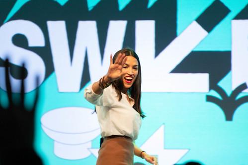 Alexandria Ocasio-Cortez @ SXSW 2019 by nrkbeta, on Flickr