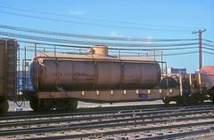 CB&Q 205439 (Chuck Zeiler 48Q) Tags: cbq 205439 burlington railroad mow tank car flat cicero train chuckzeiler chz