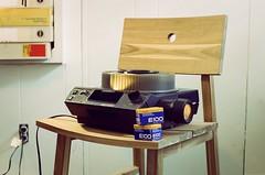 Slide Season (Kenneth John Taylor) Tags: film slideprojector 800t cinestill