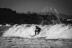 La Glisse... (De l'autre côté du mirOir...) Tags: laglisse plagedetrestrignel perrosguirec surferàtrestrignel surf mer vagues eau nikon nikkor d810 bretagne breizh brittany fr france french noiretblanc noirblanc nb blackwhite bw négroyblanco monochrome côtesdarmor côtesdelamanche