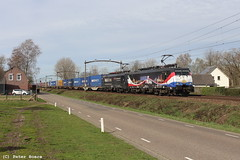 LTE cargo in Boxtel, 24-03-2019 (PeterBrabant) Tags: lte sbbc 189212 189108 boxtel