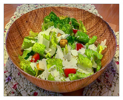 All Hail  Caesar (Timothy Valentine) Tags: salad home food 2019 0319 datesyearss eastbridgewater massachusetts unitedstatesofamerica us week122019 startingtuesdaymarch192019 52weeksthe2019edition nomnomnom