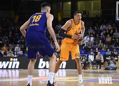 DSC_0217 (VAVEL España (www.vavel.com)) Tags: fcb barcelona barça basket baloncesto canasta palau blaugrana euroliga granca amarillo azulgrana canarias culé