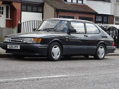 1990 Saab 900 S 16v Turbo (Neil's classics) Tags: vehicle 1990 saab 900s 16v turbo car