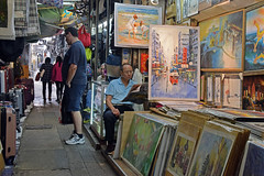 Painting Alley (pajamaqueen15) Tags: hong kong street photography urban paintings art