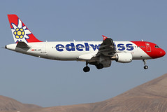 HB-JJK_01 (GH@BHD) Tags: hbjjk airbus a320 a320200 a320214 edw edelweissair ace gcrr arrecifeairport arrecife lanzarote aircraft aviation airliner