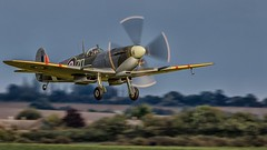 Cleared for takeoff (EXPLORED) (waynedavey67) Tags: canon canon7dmkii 7dmkii 600mmlf4 tripod spitfire wwii airdisplay aircraft airoplane duxford2018 vintageaircraft flight