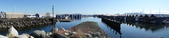 Bewicke Park vista (D70) Tags: bewickepark vista mirror reflection harbour panorama boathouses boat houses bewicke park burrardyachtclub burrardinlet vancouverharbour districtofnorthvancouver britishcolumbia canada boatsheds heron rocky spit cloudless