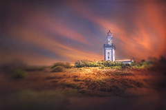 Faro de Higer (Ro Cafe) Tags: landscape lighthouse selectivefocus blur basquecountry hondarribia lensbaby sol45 sonya7iii textured