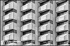 Repeating Forms (Thomas Henneman) Tags: albuquerque architecture batavia downtown illinois places angles black blackandwhite building citycountybuilding conversion monochrome newmexico repeatingforms urban white windows usa