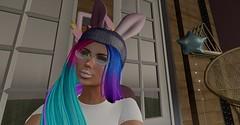 To bunny or.. (Talu March) Tags: escalated thebunnyhophunt hunt events loki furtacor dazed cazimi dpkoffinnails gosee synco meowhi hilted simplyshelby 7deadlyskins maitreya genusproject petitemort foxcity hair fashion secondlife blog blogger