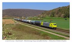 Br 119 007 RheinCargo - Karlstadt (CC72080) Tags: br119 rheincargo güterzug zug locomotive lokomotive locomotiva train treno merci marchandise karlstadt