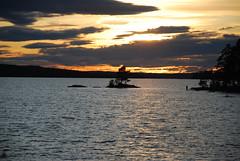 DSC_0463 (MSchmitze87) Tags: schweden sweden dalsland kanu canoeing see lake sunset