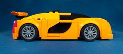 X12 Crisis Side (EliteGuard01) Tags: lego ldd legodigitaldesigner studio speed speedchampions mclarenp1 bugatti supercar hypercar midengine car carbonfiber activeaerodynamics spoiler v14 v12 supercharged bluebackground brightorange