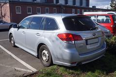 2009 Subaru Legacy Kombi Heck (Joachim_Hofmann) Tags: auto fahrzeug subaru legacy subarulegacy kombi allrad kraftfahrzeug kfz