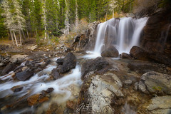 Chute de l'ouest (jlf_photo) Tags: waterfall water rockies mountain canada alberta jasper banff