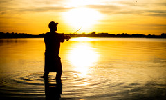 (Attila Pasek (Albums!)) Tags: angling bait silhouette fishing angler sunset lure
