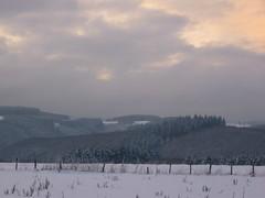 Hohe Plateau´s & tiefe Täler (Jörg Paul Kaspari) Tags: ösling winter schnee hoscheiddickt landschaft landscape hochplateau hochplateaulandschaft himmel sky winterabend
