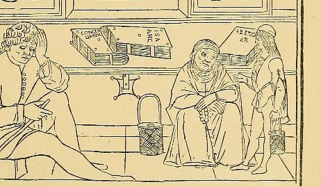 This image is taken from Page 81 of Une chaire de médecine au XVe siècle; [Giammatteo Ferrari da Grado] un professeur à l'Université de Pavie de 1432 à 1472