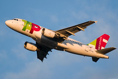 CS-TTS (Andras Regos) Tags: aviation aircraft plane fly airport bud lhbp spotter spotting takeoff tap airbus a319 sunset