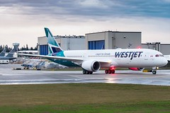 WestJet's First 787-9 delivery departure C-GUDH (ncsheeder) Tags: spotting jetpics jetphotos planeporn planespotting planespotter planepics avphotoa avpics avphotography beacon painefield everett seattle firstflight deliveryflight dreamliner 7879 787 boeing
