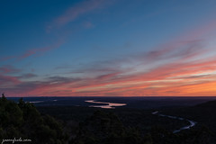 Sunset Reflected in Lake Travis (Jason Frels) Tags: balconescanyonlandsnationalwildliferefuge laketravis sunsetcolor texashillcountry sky sunset texas