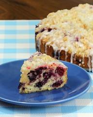 Blueberry Coffee Cake (MatthwJ) Tags: baking homemade blueberry coffee cake lemon glaze 2019 baking2019