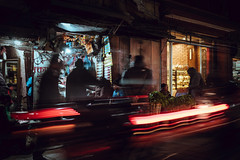 Trails (danielhibell) Tags: kathmandu nepal travel asia discover explore world street streetphotography people religion culture ambience mood buddhism hinduism colour light praying moving special