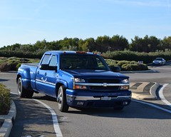 CHEVROLET Silverado (1ère génération) - 2004 (SASSAchris) Tags: chevrolet silverado 1ère génération pick up pickup voiture américaine 10000 tours castellet circuit ricard