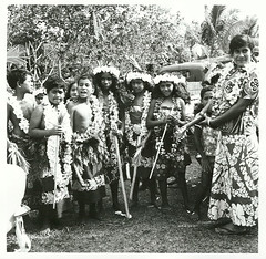 Niue Island: Niuen wedding party, 1974