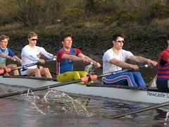 IMG_1125 (NUBCBlueStar) Tags: rowing remo rudern river aviron february march star university sunrise boat blue nubc sculling newcastle london canottaggio tyne hudson thames sweep eight pair