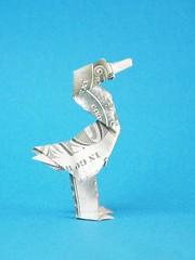 Norman the duck - Janessa Munt (Rui.Roda) Tags: origami papiroflexia papierfalten money folding norman duck janessa munt